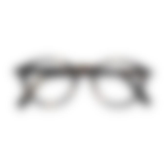 IZIPIZI Unisex Tortoise Shell D Round Reading Glasses