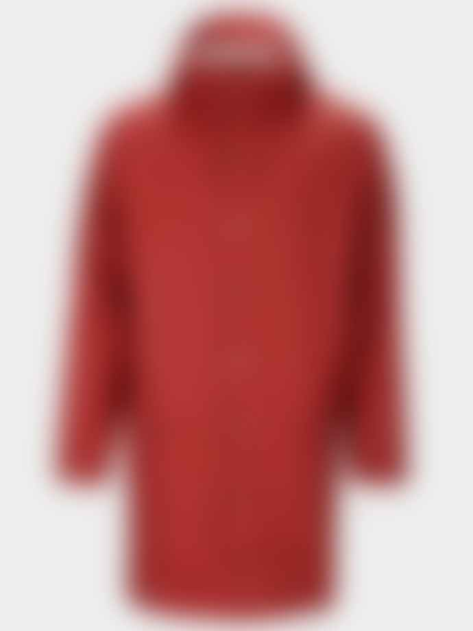 Rains Scarlet Long Jacket
