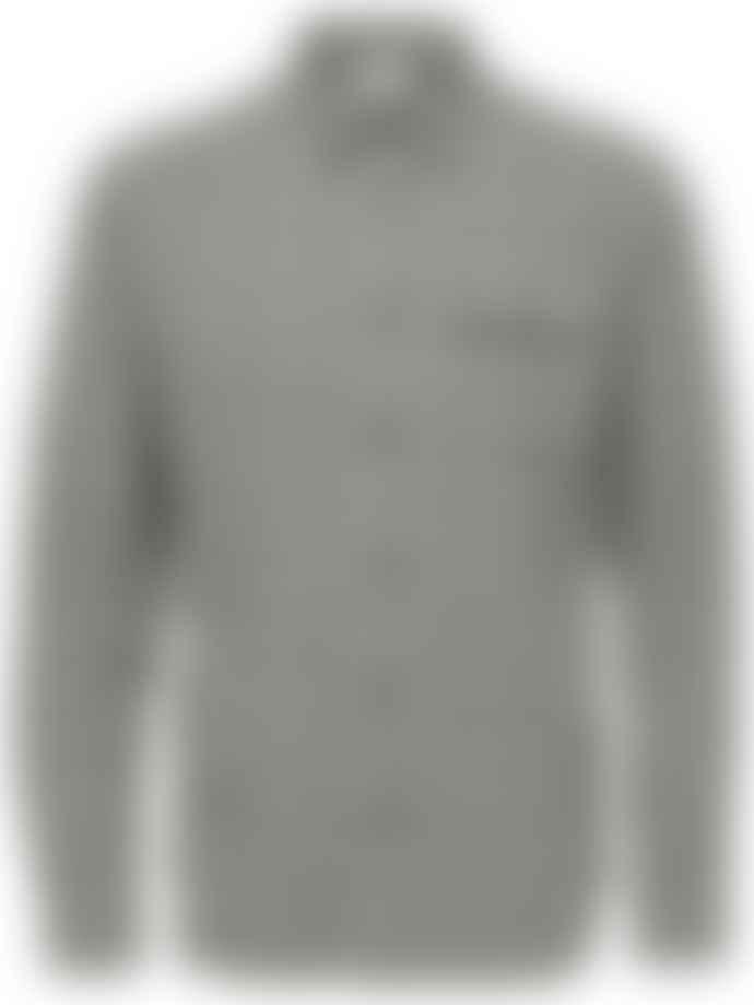 Selected Homme White Valdemar Checked Shirt