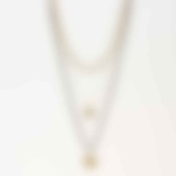 Mark Watson Grey & Silver 360 Clementine Necklace