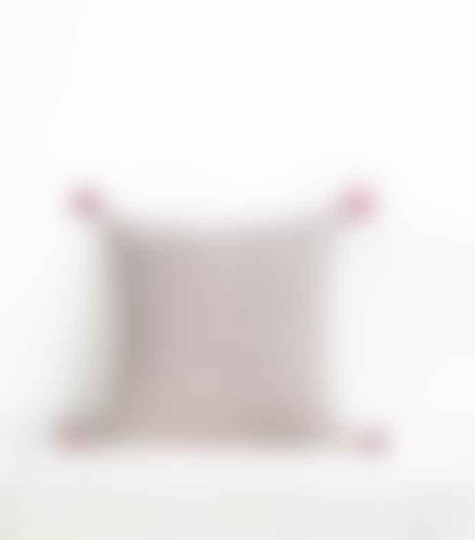 Jamini 16x16 Brick Red Amelie Pillowcase