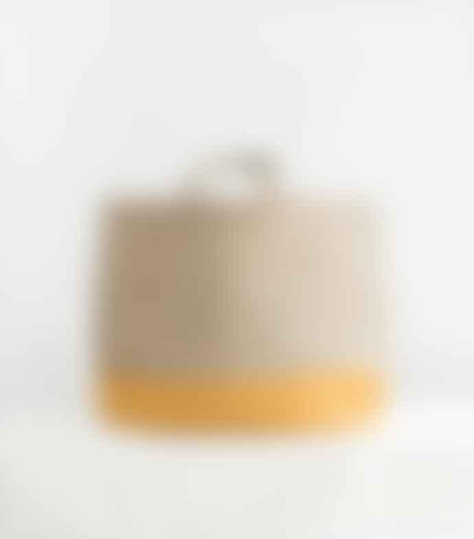 Jamini Yellow Carmen Handwoven Bag