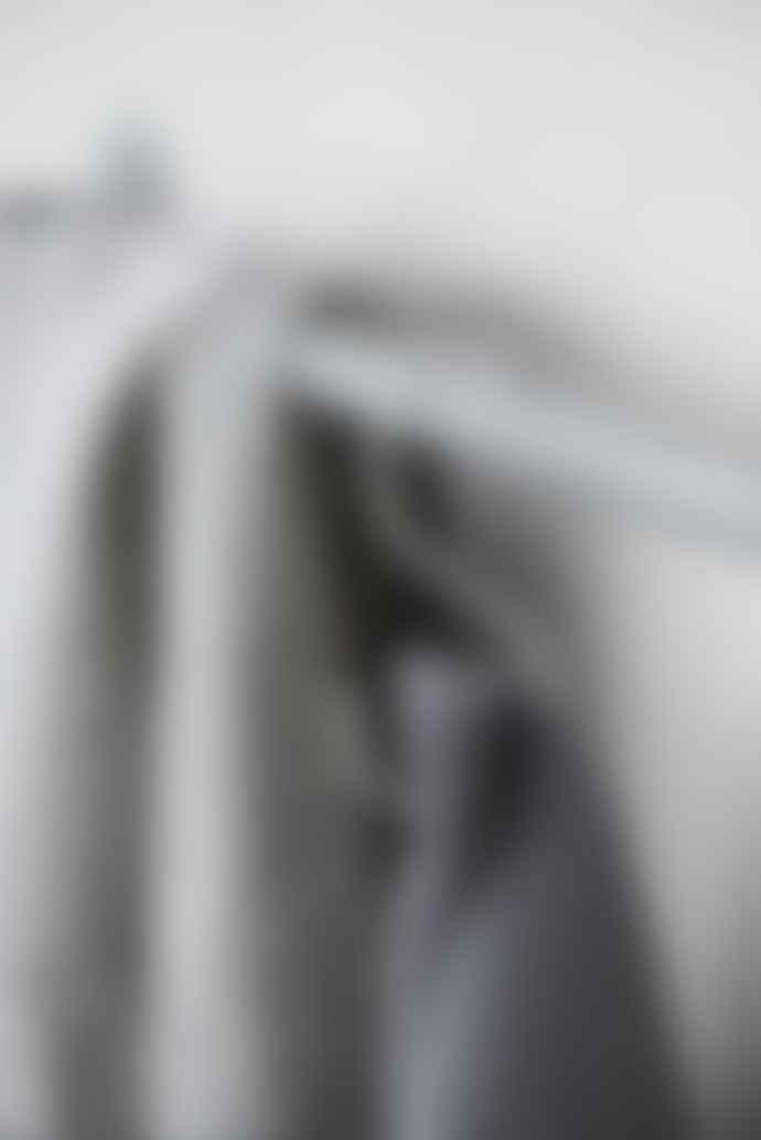 Ib Laursen Dark Grey Knitted Cotton Towel