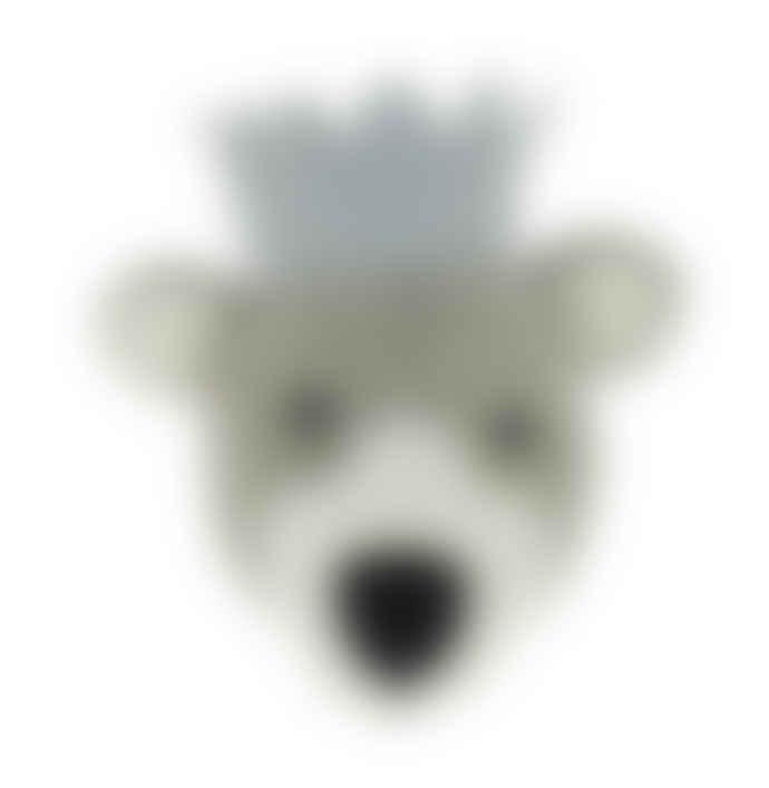 Fiona Walker England Baby Bear Wall Head - Mini