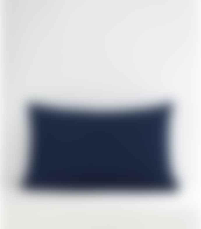 Jamini Indigo Blue 16x26 Aastha Pillowcase