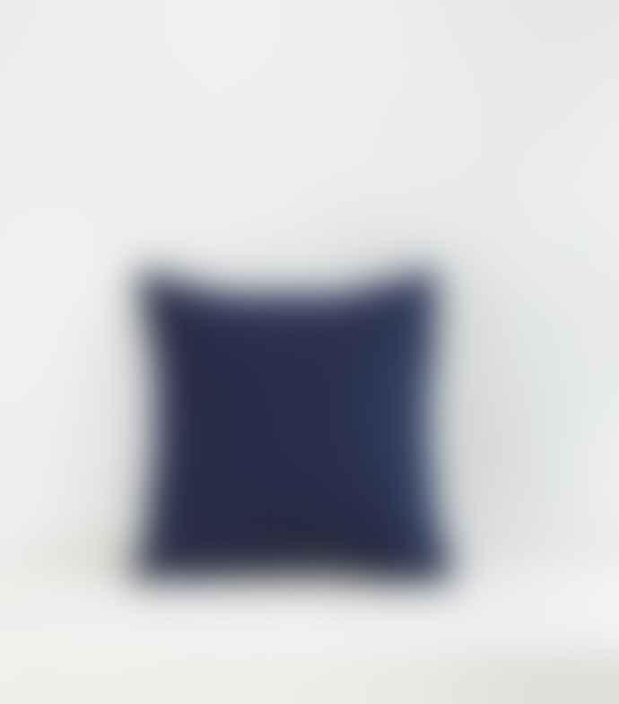 Jamini Indigo Blue 16x16 Amina Pillowcase
