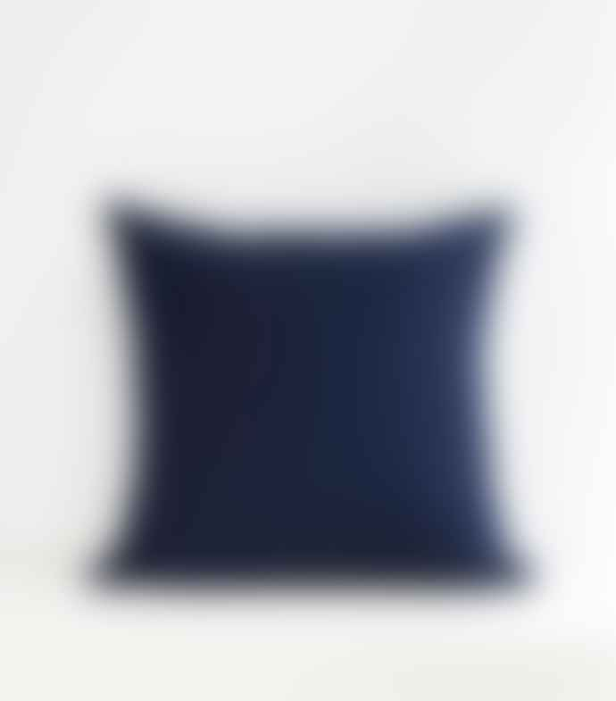 Jamini Indigo Blue 24x24 Amalya Pillowcase