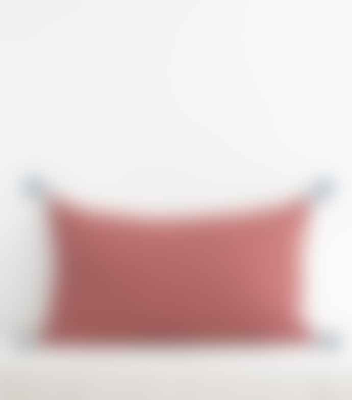 Jamini 16x26 Brik Red Ashima Pillowcase