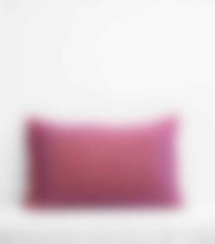 Jamini Red 16x26 Ginna Pillowcase