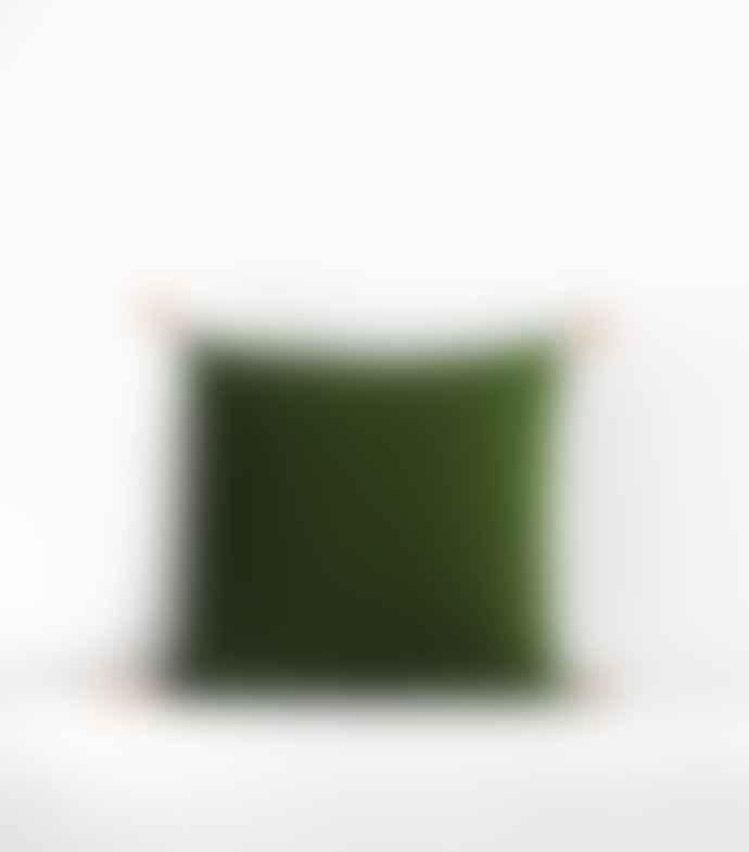 Jamini Khaki Sonali 16x16 Pillowcase
