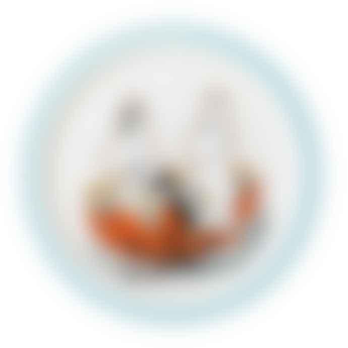 Petit Jour Moomin Baby Plate