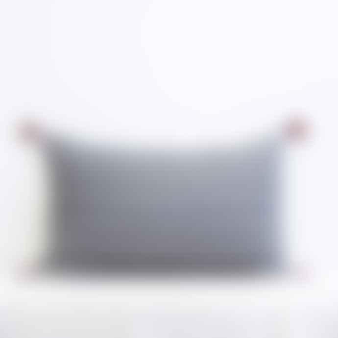 Jamini Black 16x26 Adele Pillowcase