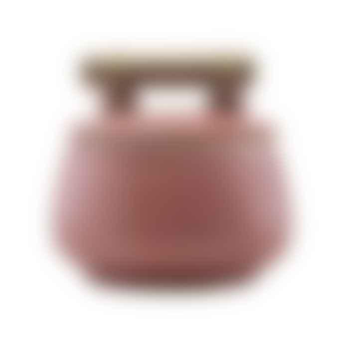 House Doctor Diva Burnt Henna Glazed Stoneware Jar