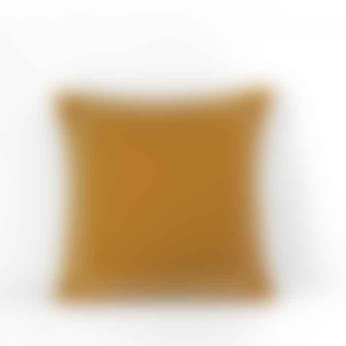 Jamini Mustard Yellow 24x24 Clea Pillowcase