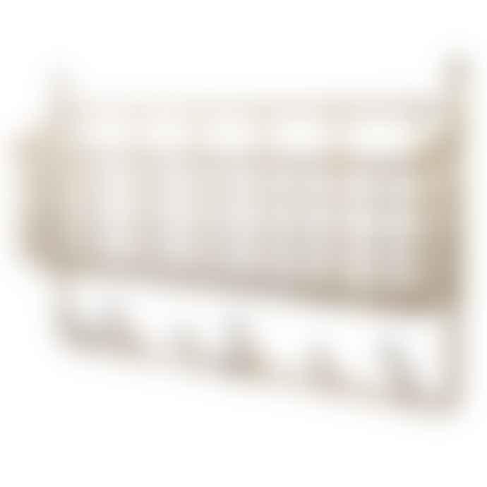 Maze Brass Mitten Shelf