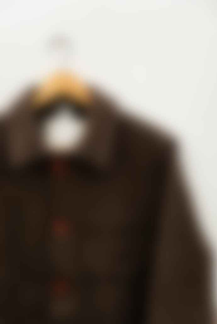 Le Laboureur Grey Brown Ecru French Work Wear Wool Jacket
