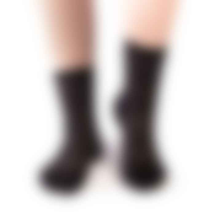 Tracey Neuls Black Sandra Mesh Socks