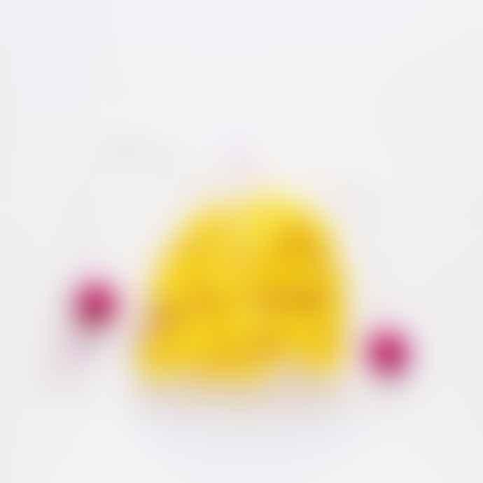 Pom Pom Galore Yellow Pom Pom Garland