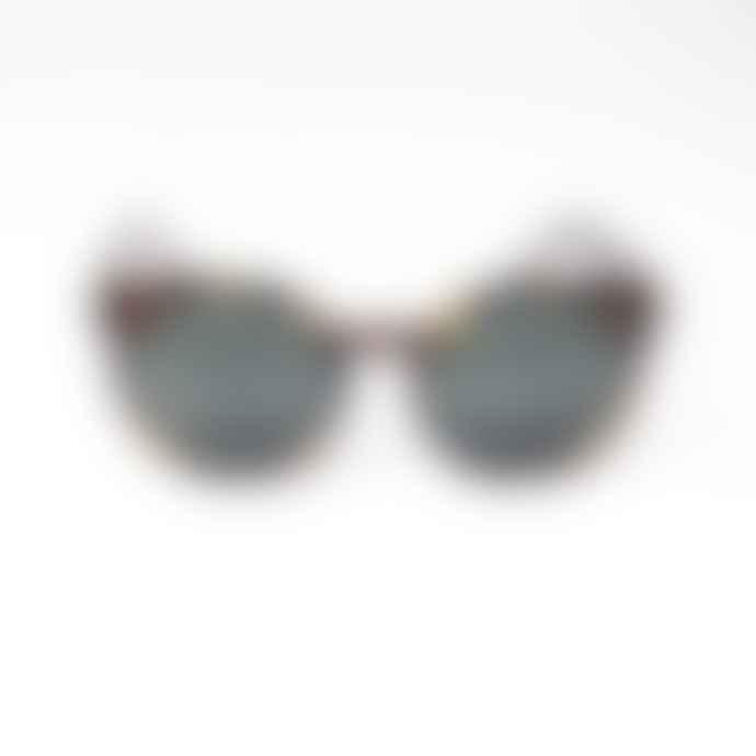Komono Lulu Crystal Giraffe Sunglasses
