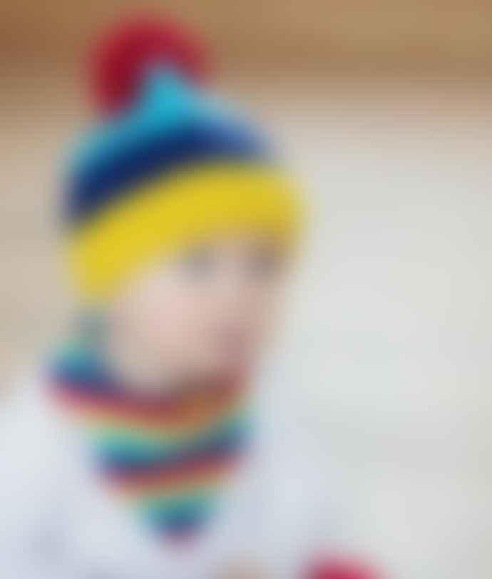 Blade & Rose Rainbow Bobble Hat