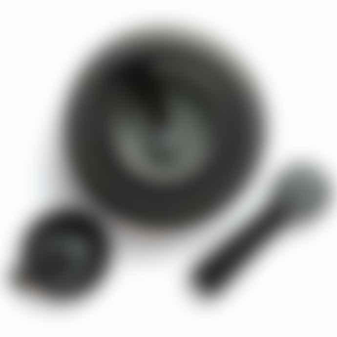 David Mellor Large Black Granite Pestle And Mortar