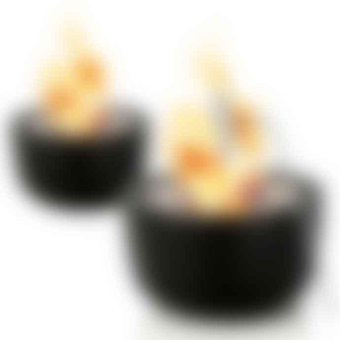 Blomus 18cm Floz Design Fuoco Tabletop Gel Firepit