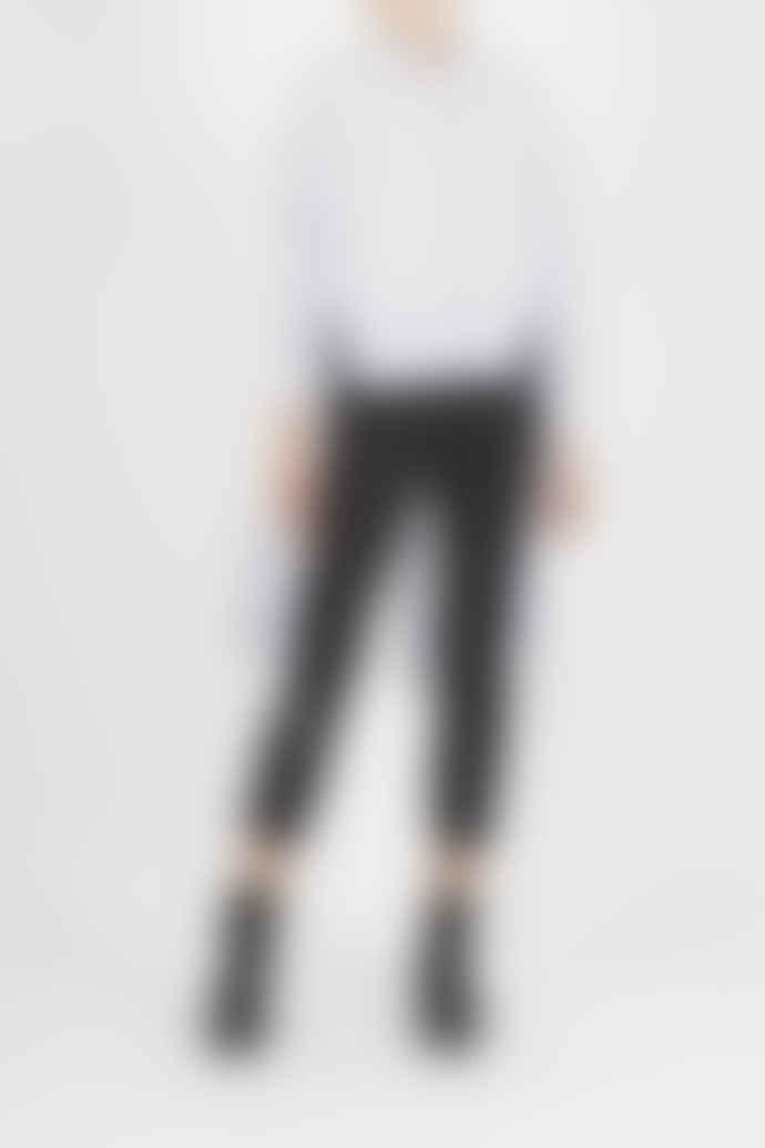 Jovonna London White Juno Striped Shirt Dress