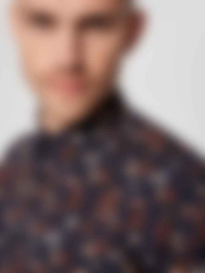 Selected Homme Slimdavid Floral Print Shirt