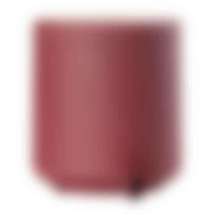 Zone Denmark Maroon Red Ume Pedal Bin