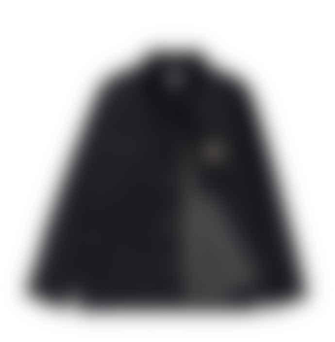 Carhartt WIP Black Rigid Michigan Coat