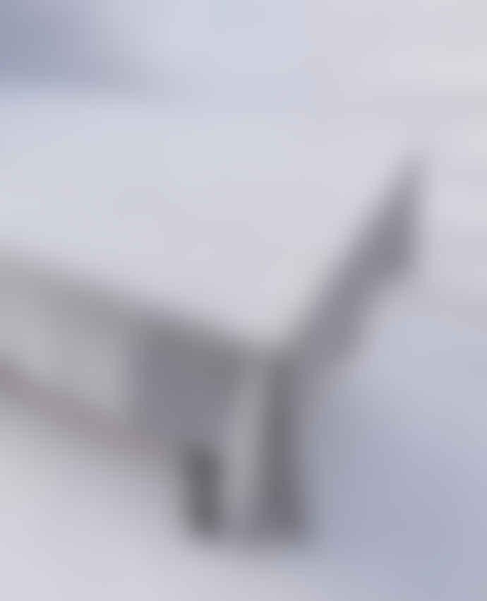 Indigo & Wills Large Grey Hibiscus Design Cotton Tablecloths