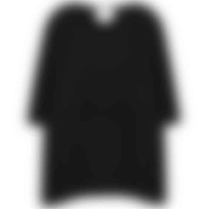 Absolute Cashmere Noir Black Cashmere  Poncho
