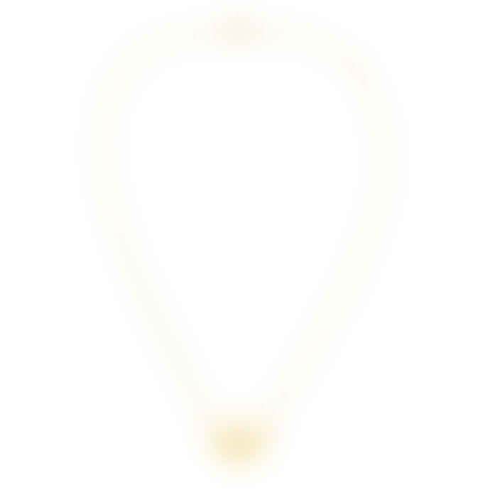 Zoe and Morgan  Gold Pocket Full Of Sunshine Necklace