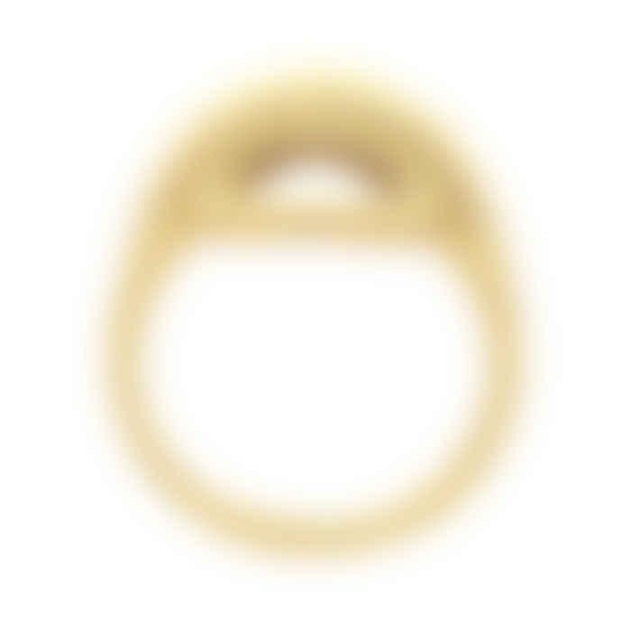 Zoe and Morgan  Gold Pocket Full Of Sunshine Ring