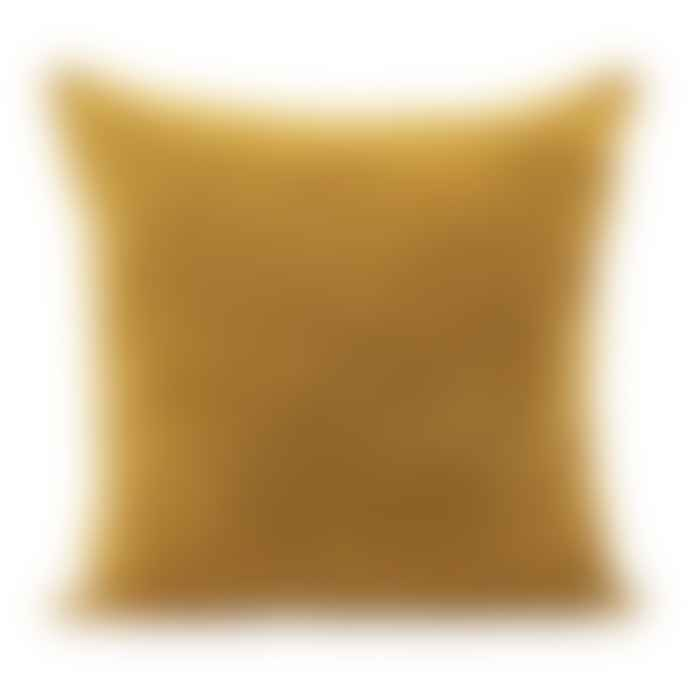 House Doctor Large Velvet Haldi Cushion