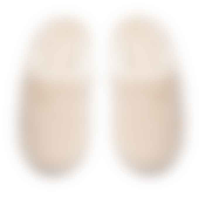 Tracey Neuls SLIPPERS Milk | White Shearling Slippers