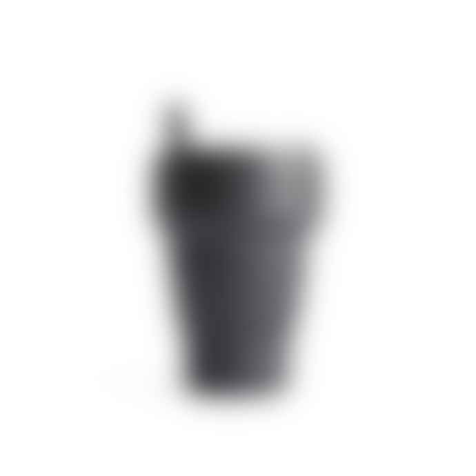 Stojo Mono Grey Stojo Biggie 16oz | Reusable Collapsible Cup