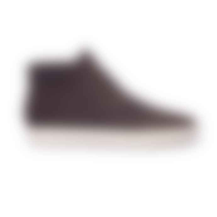 Clae Umber Strayhorn Waxed Suede Shoe