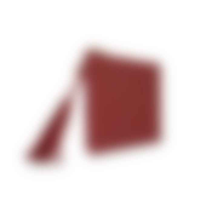 Katie Loxton Ruby Red Florrie Tassel Clutch Bag