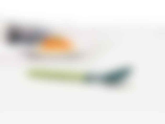 Joseph Joseph Grey / Green Elevate Silicone Solid Spoon