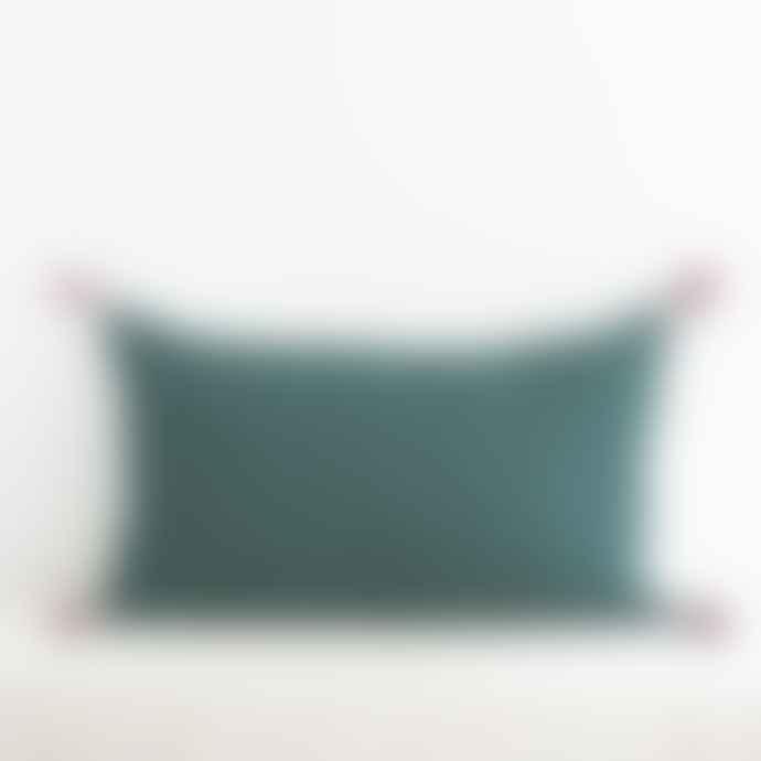 Jamini Forest Green 16x26 Ashima Pillowcase