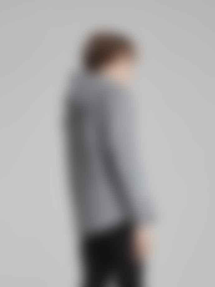 Makia Clothing Grey Herring Hooded Sweatshirt