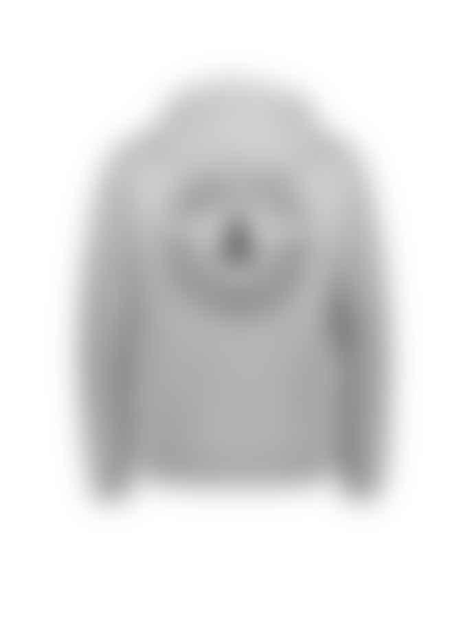 Makia Clothing Grey Astern Hooded Sweatshirt