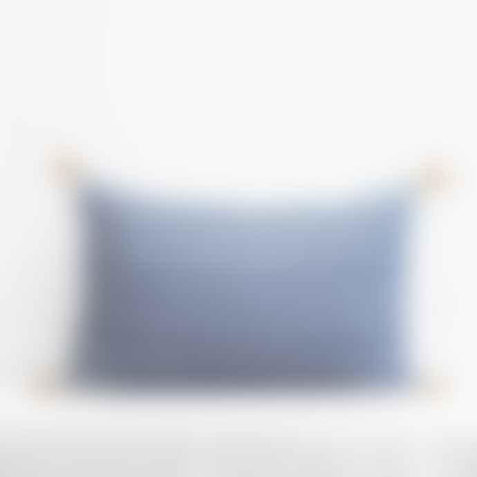 Jamini Duck Blue 16x26 Adele Pillowcase