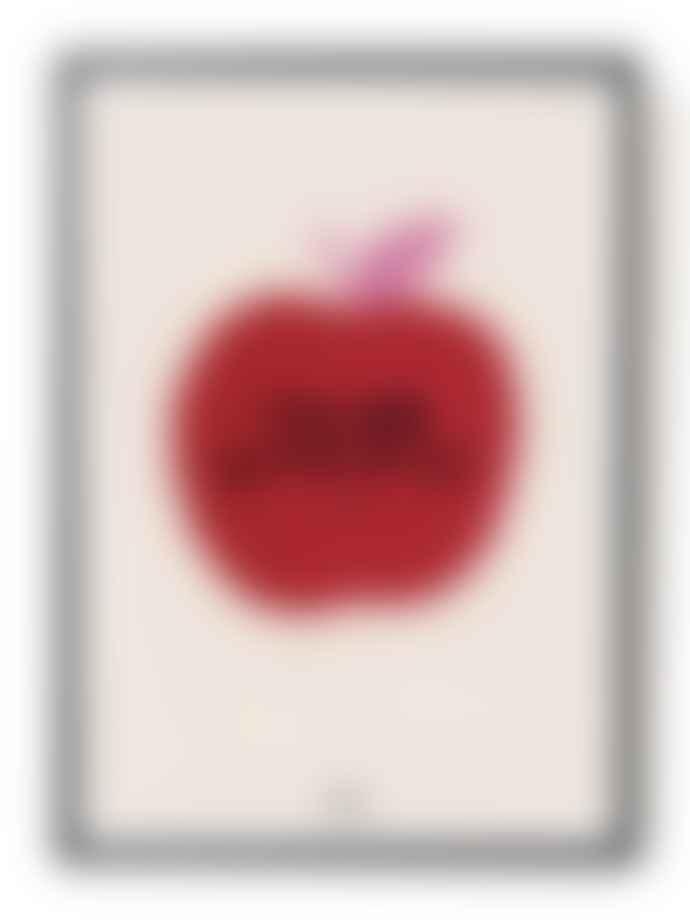 Hotel Magique Apple Framed Art Print