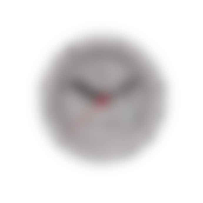 Present Time Grey Karlsson Terrazzo Alarm Clock