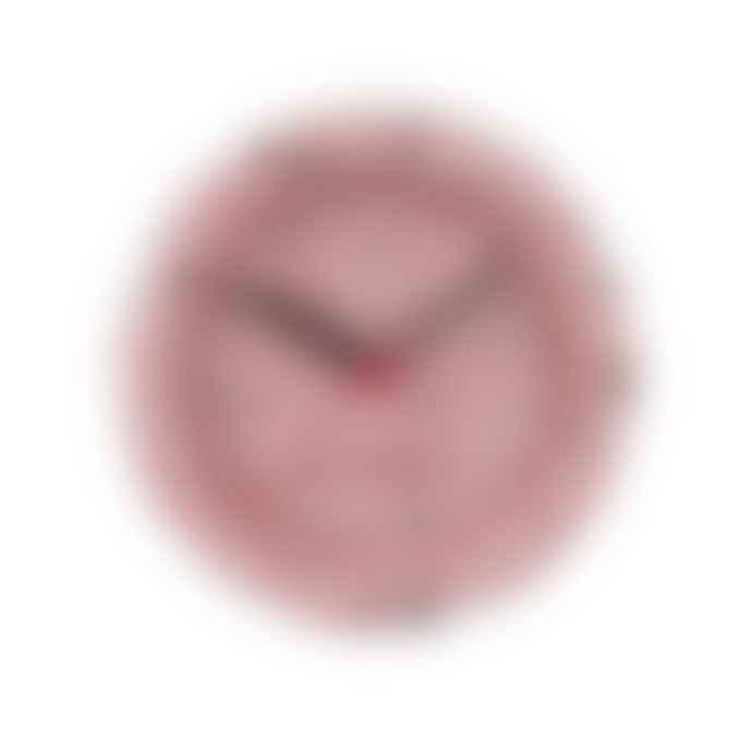 Present Time Pink Karlsson Terrazzo Alarm Clock