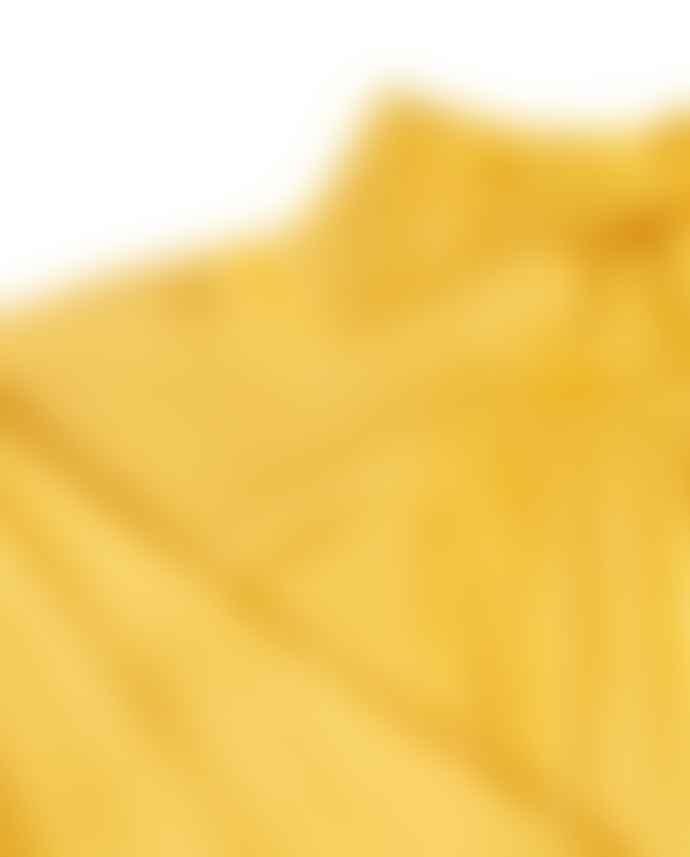 Mads Norgaard Yellow Satin Flex Dromma Dress