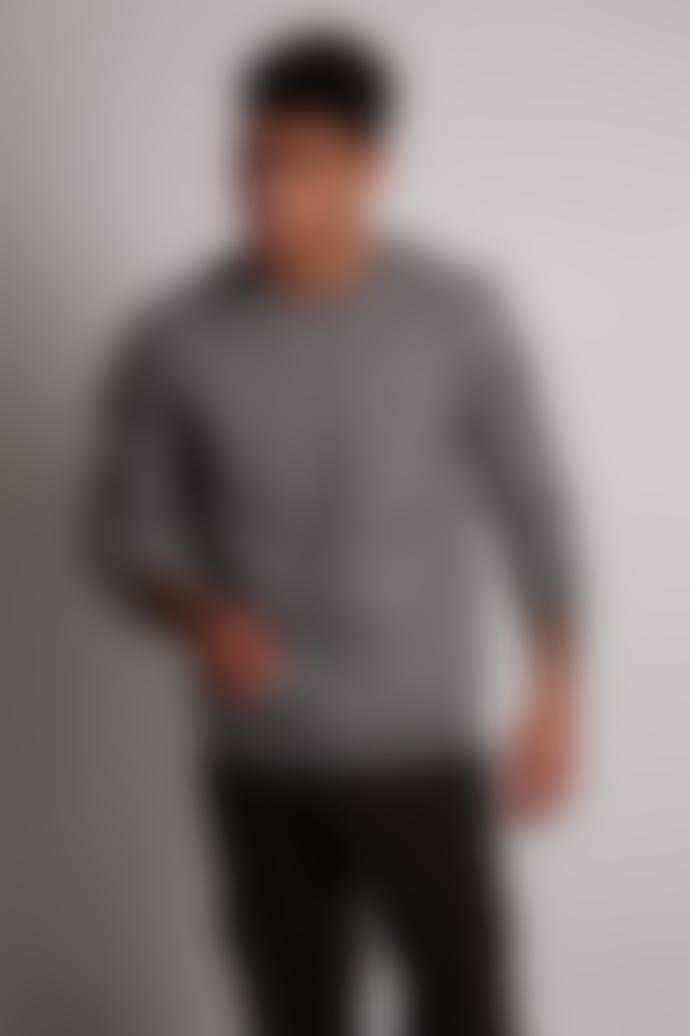Hymn Grey Marl Sherwood Wool Sweatshirt