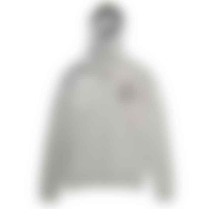 Deus Ex Machina Grey Marl Circle Logo Zip Hoodie
